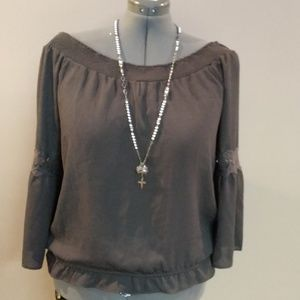 Maurices On-off Shoulder Blouse